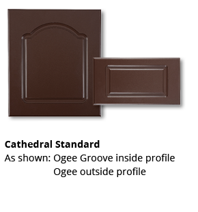 Outdoor Cabinets Cathedral Standard Door Style