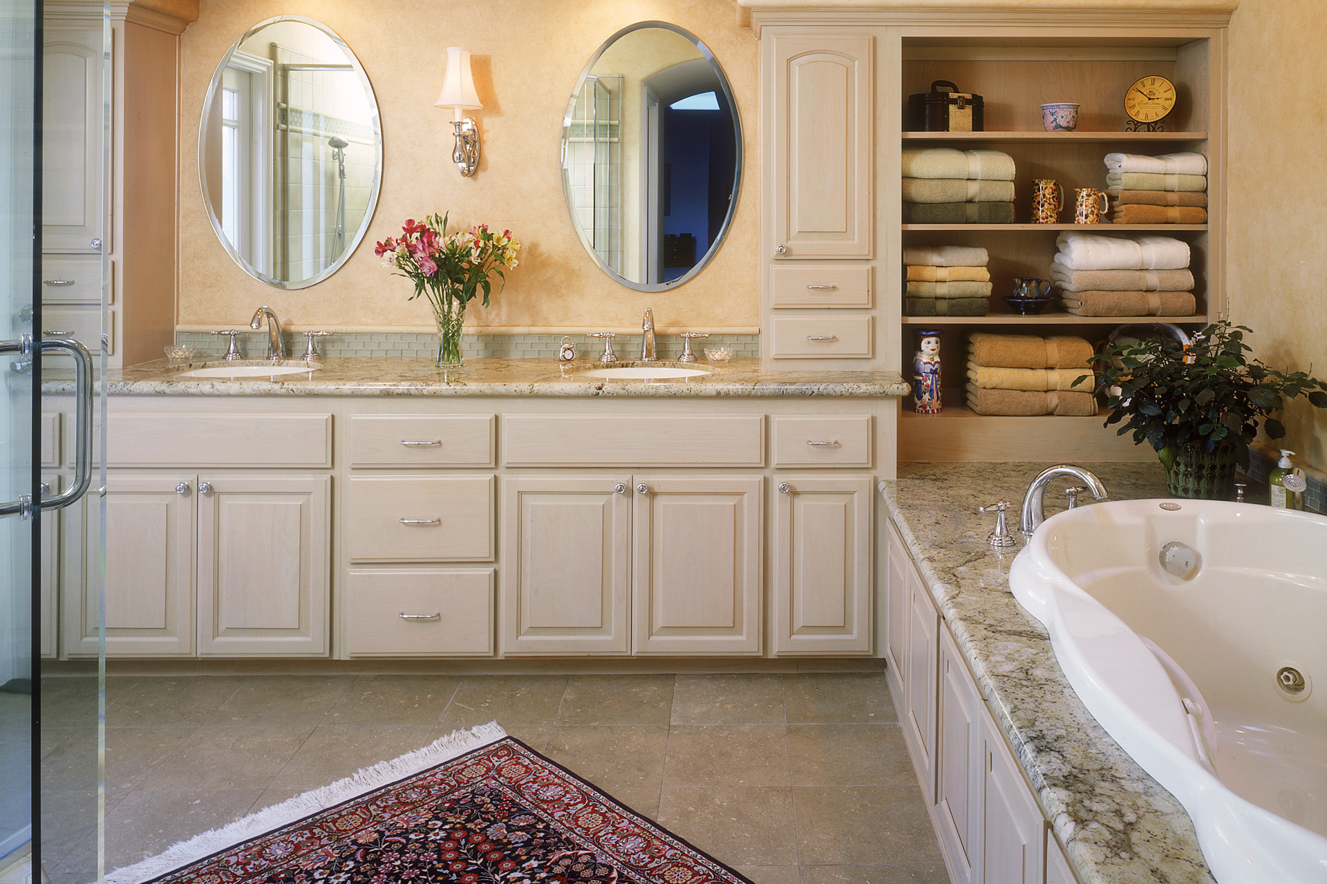 double vanity cabinets bathroom custom bathroom cabinets curved sinks two level 15037